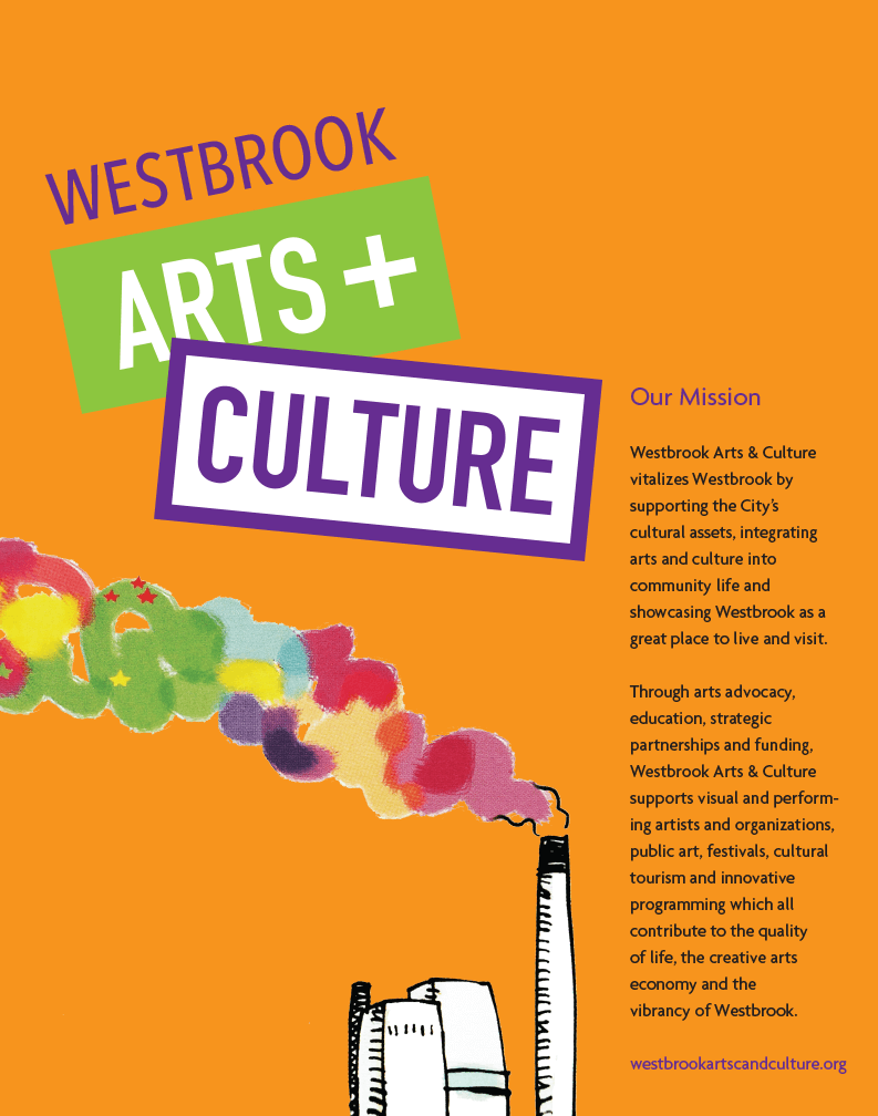 Westbrook Arts and Culture Poster
